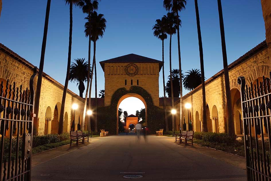 "Towards entry ""Professor Safferling as visiting scholar at Stanford University"""